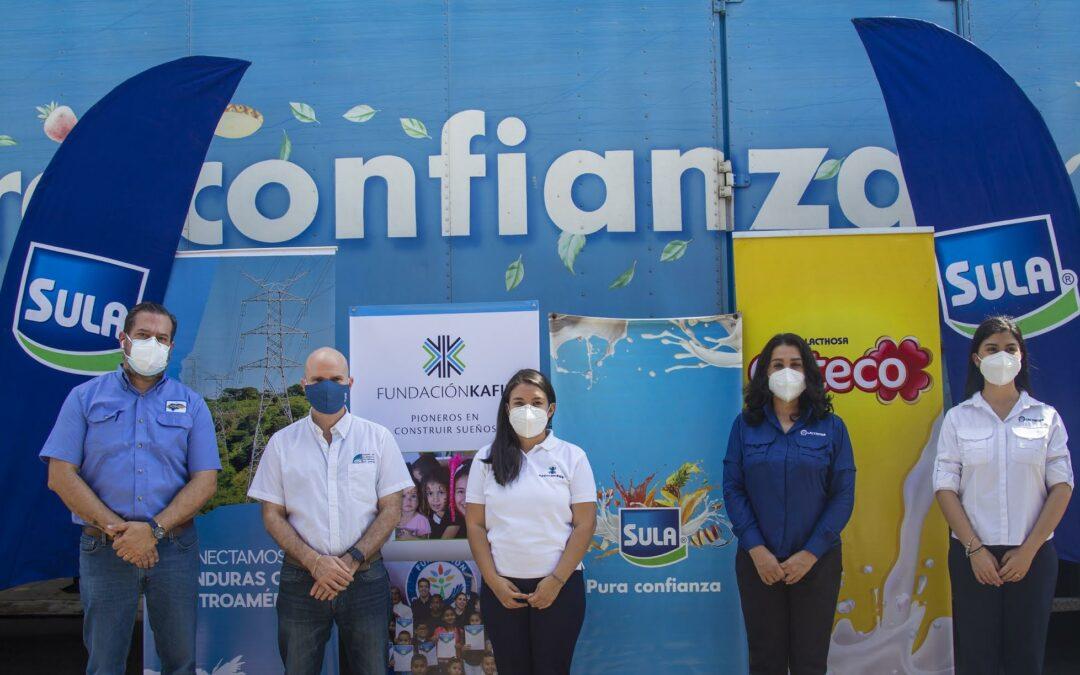 Honduras: Fundación Kafie entregó 5,000 kit de alimentos para beneficiar a familias afectadas por Eta e Iota