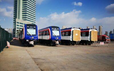 Embarcan desde China segundo lote de nuevos trenes hacia Costa Rica