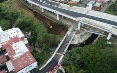Costa Rica: Puentes complementarios de circunvalación norte presenta avances constructivos de más de 80%