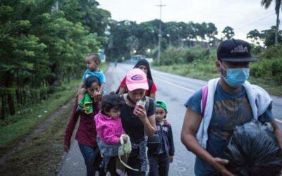 Cae un 24,2 % la deportación de inmigrantes a Honduras en el primer trimestre