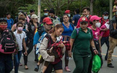 Casi 1000 migrantes hondureños han sido devueltos a su país por Guatemala