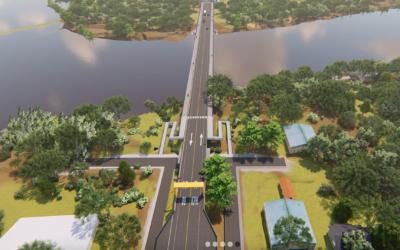 Puente entre Panamá y Costa Rica tiene un 97% de avance y prevén inauguración en Marzo
