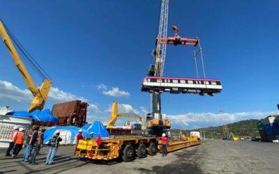 Segundo lote de trenes nuevos ya está en Costa Rica