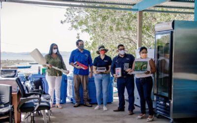 Costa Rica: MarViva y Banco Nacional donan equipos para reactivar negocios en comunidades costeras del Golfo de Nicoya