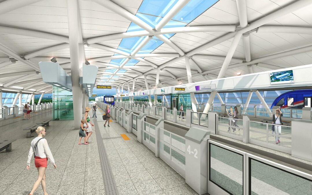 Así será la Línea 3 del Metro de Panamá