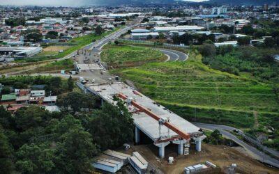 Megaobra vial financiada por el BCIE se aproxima a inaugurarse en Costa Rica