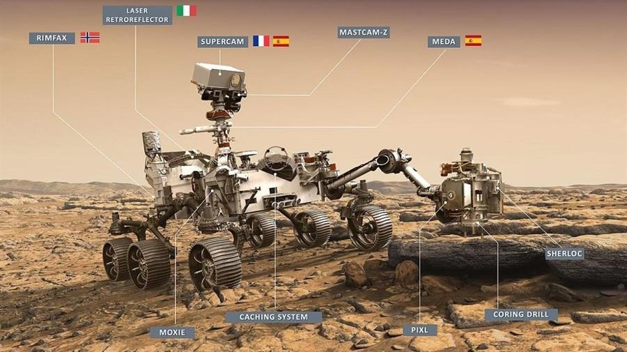 El Perseverance alista su aterrizaje en Marte tras un viaje de siete meses