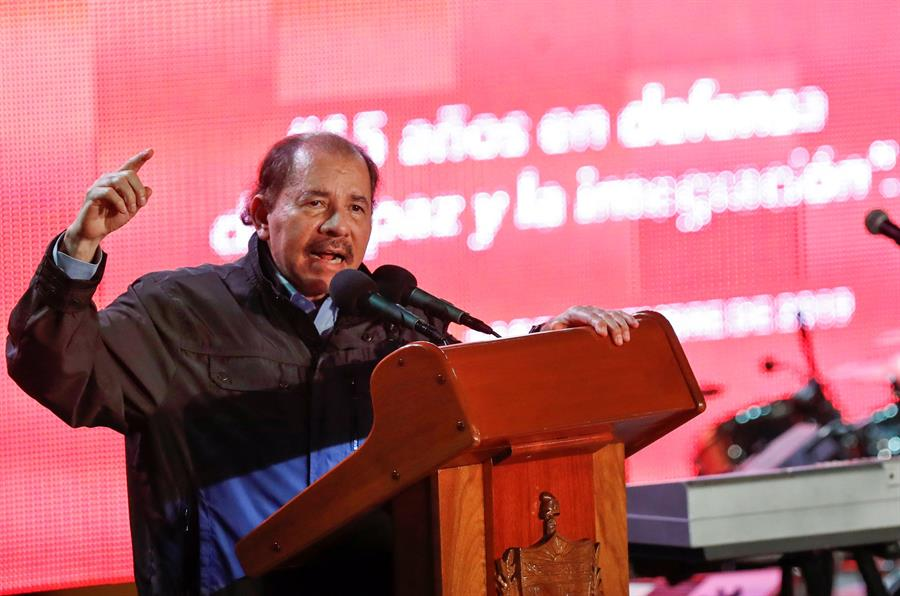 Ortega nacionaliza al segundo expresidente salvadoreño acusado por corrupción