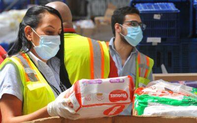 Banco de Alimentos recibe apoyo de voluntarios de Kimberly-Clark en Costa Rica