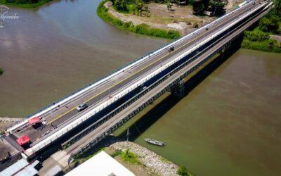 Costa Rica y Panamá inauguran nuevo puente binacional sobre río Sixaola