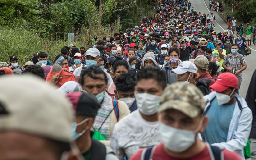 Defensor de migrantes: Guatemala se ha convertido en un muro contra las caravanas