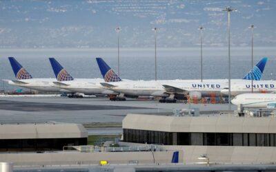 United Airlines observa una mayor demanda y busca recaudar US$10.750 millones