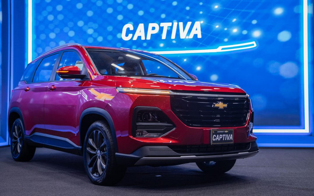 Chevrolet Captiva 2022 llega a Guatemala