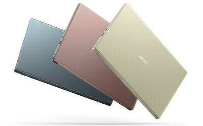 Acer apunta a nuevas perspectivas tecnológicas y amplía su portafolio de consumo y gaming