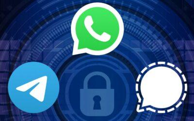 Privacidad: diferencias entre WhatsApp, Telegram y Signal