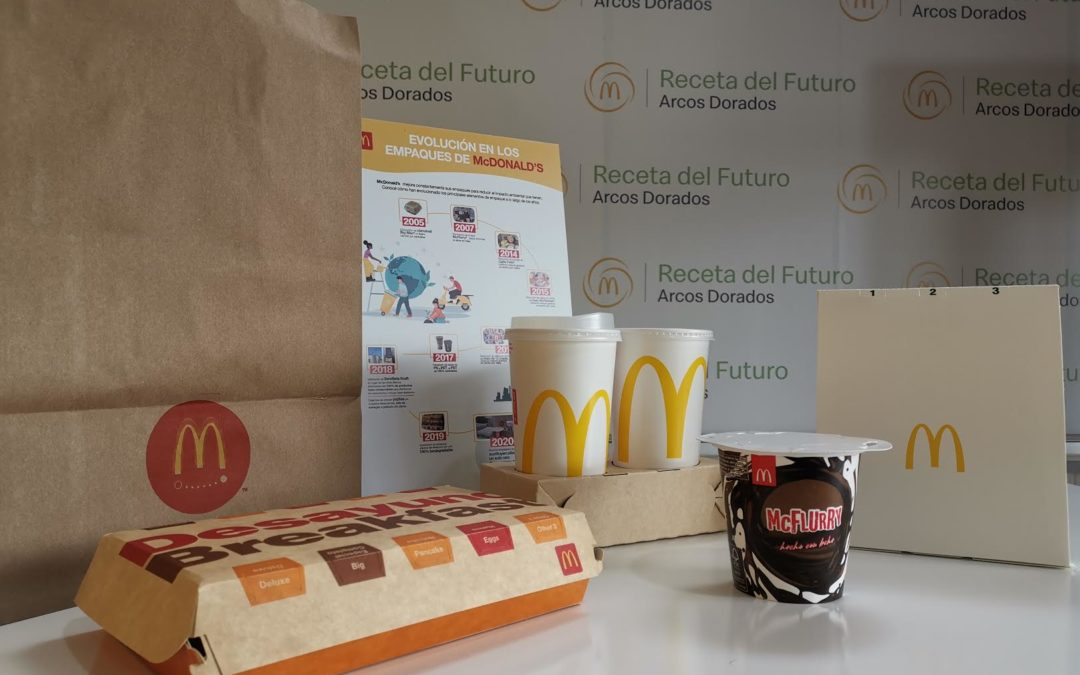 Arcos Dorados removió un 40% del total de plástico de un sólo uso de sus restaurantes en toda la región