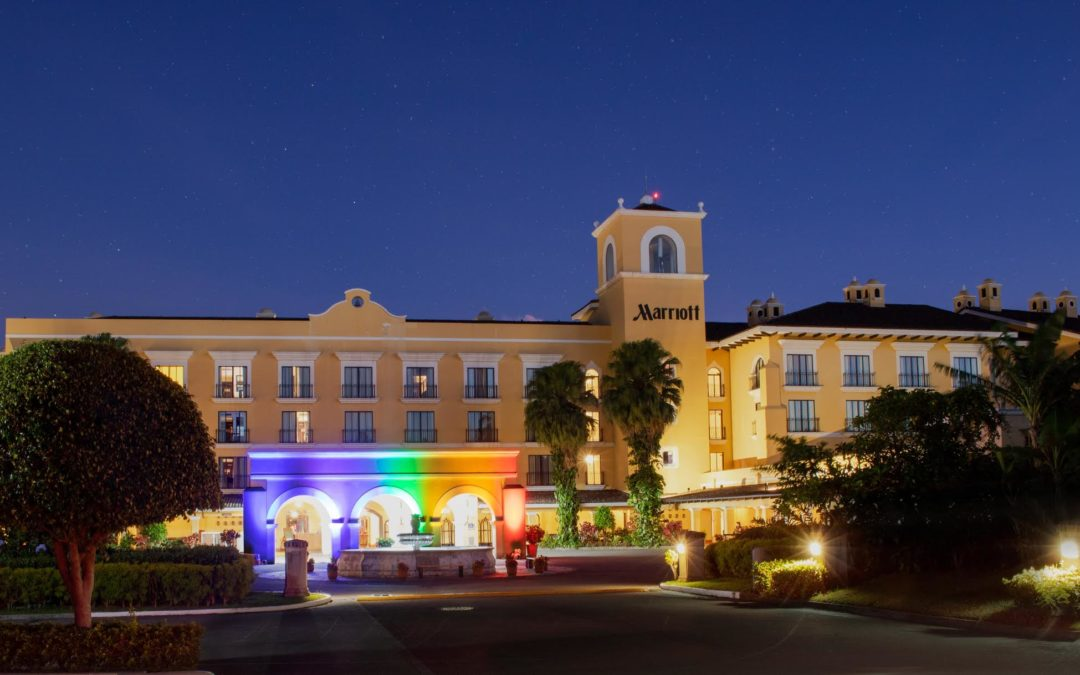 Marriott International se une a la celebración del mes del Pride en Centroamérica