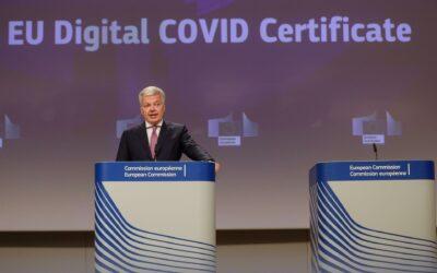 Países de la Unión Europea pueden usar desde hoy el certificado digital de vacunación