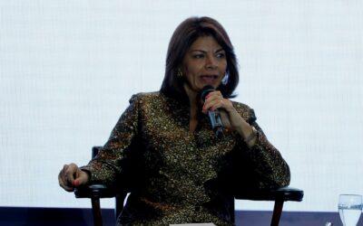 Expresidenta de Costa Rica Laura Chinchilla, debatirá en Nueva York el futuro de América Latina