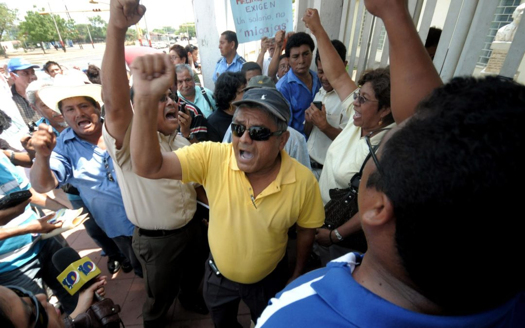 Sindicatos sandinistas repudian a Unión Europea y llaman a votar por Ortega en Nicaragua