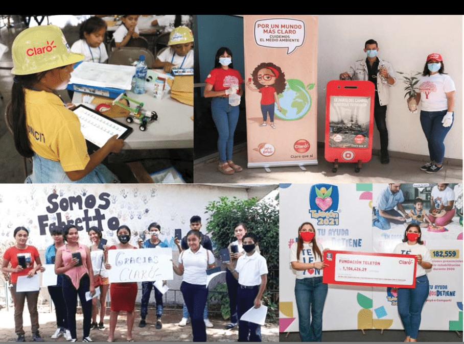 Claro Nicaragua: Construir un mejor futuro