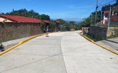 Honduras: Gobierno mejora infraestructura vial de aldeas, barrios y colonias de Francisco Morazán