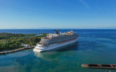 Honduras: Arriba a Roatán primer crucero con turistas post-Covid-19
