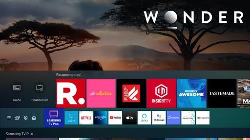 Es fácil activar Multi View para mirar hasta cuatro contenidos a la vez en los televisores Samsung