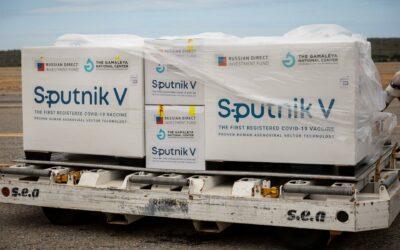 Nicaragua recibe de Rusia un nuevo lote de vacunas Sputnik V