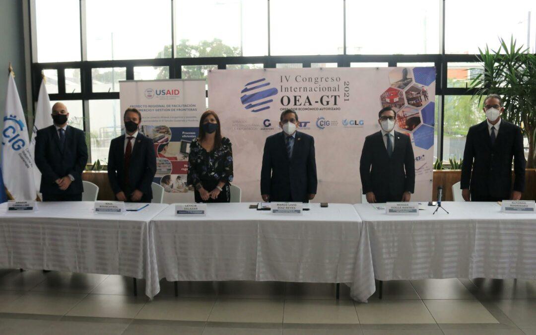 Sectores público y privado se unen para promover la figura de Operador Económico Autorizado como herramienta competitiva para el comercio de Guatemala