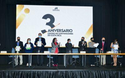 Centro de Convenciones de Costa Rica brinda apoyo al sector de reuniones y eventos por medio de importante convenio