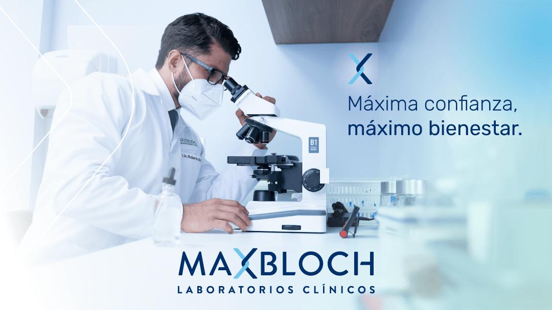 MaxBloch nueva imagen, máxima confianza, máximo bienestar