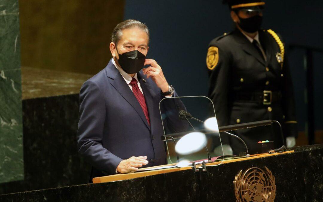 Presidente de Panamá invoca a la ONU ante la migración y la crisis climática