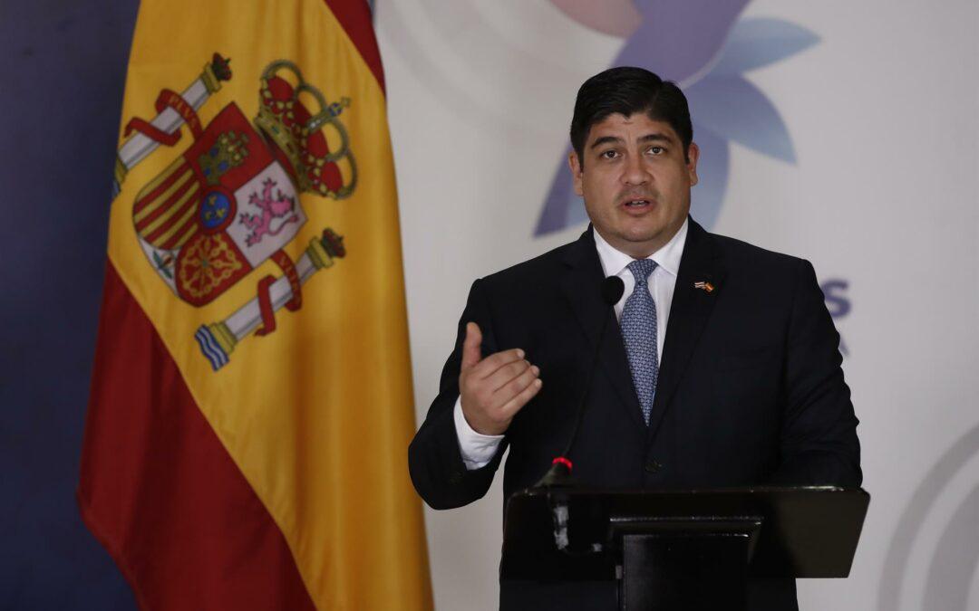 Presidente de Costa Rica advierte de inestabilidad en países en desarrollo sin ayudas