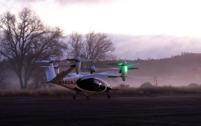 NASA inicia prueba de taxis aéreos para descongestionar las vías