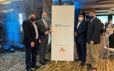 AES Panamá gana el premio Palma de Oro 2021 del Sindicato de Industriales de Panamá