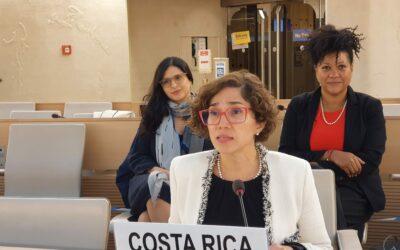 Con liderazgo de Costa Rica, el Consejo de Derechos Humanos reconoce por primera vez el derecho a un ambiente limpio, sano y sostenible