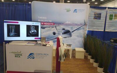 Industria aeroespacial de Costa Rica promociona su oferta en feria NBAA
