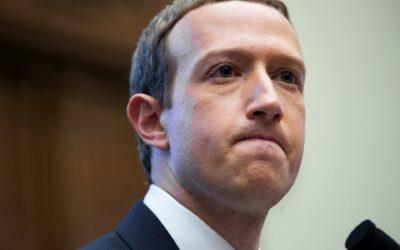 Zuckerberg pierde US$5.900 millones tras la caída de Facebook